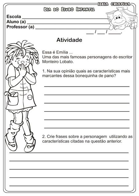 Sitio Do Picapau Amarelo Monteiro Lobato Com Imagens Dia Do