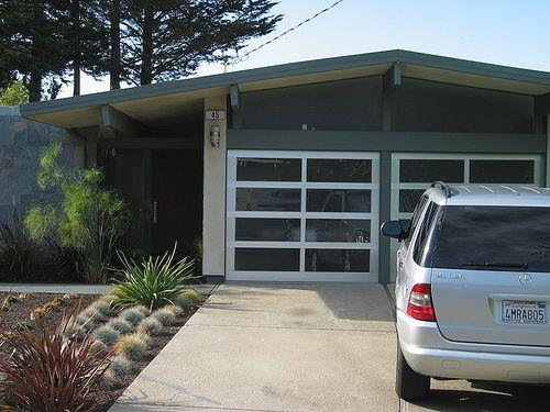 Eichler 183 Eichler Homes Garage Doors Garage