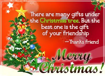 merry christmas wishes for my friends