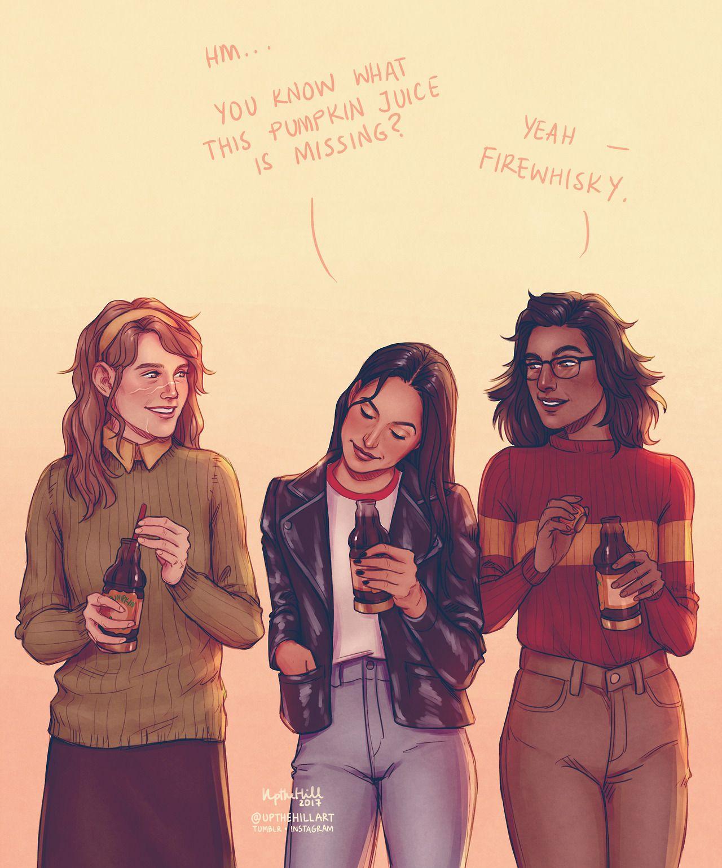 Remus Sirius James Harry Potter Comics Harry Potter Fan Art Harry Potter Marauders