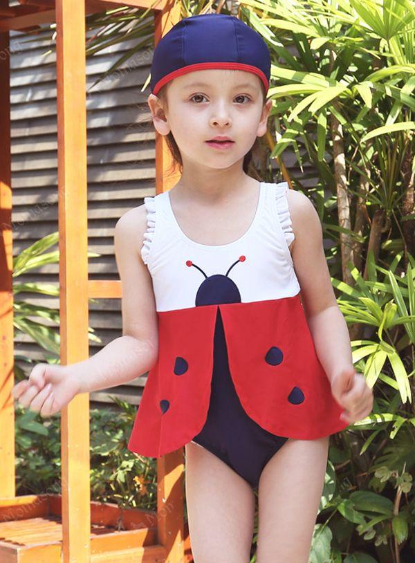 6cab94f0248 【楽天市場】送料無料 子供水着キッズ水着 女子 女児水着 スイムウェア みず
