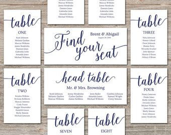 Printable seating chart wedding cards editable template diy for picture frame collage also free arrow rh pinterest