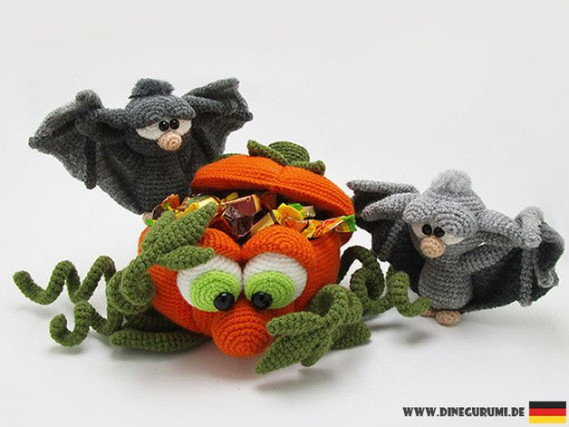 Halloween Amigurumi Crochet Pattern : Halloween kürbis häkelanleitung amigurumi amigurumi and crochet