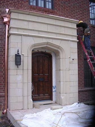Tudor Artisans Example Door Surrounds Tudor House Exterior Stone Architecture Limestone Fireplace Surround