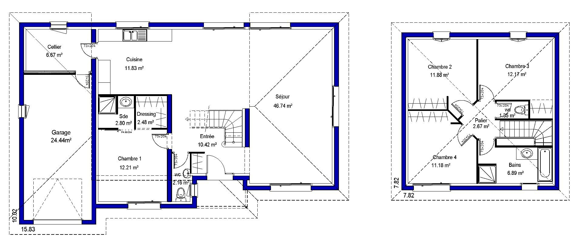 Free With Plan Maison 140 M2