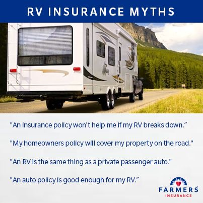Even If Your Rv Breaks Down You Can Count On Farmers Http Www