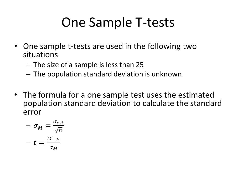 Image result for one sample t-test formula | Graphing linear equations,  Equations, Free math help