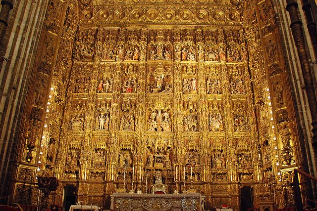 Sevilla - Cathedral, Capilla Mayor (Chancel)   My all time ...