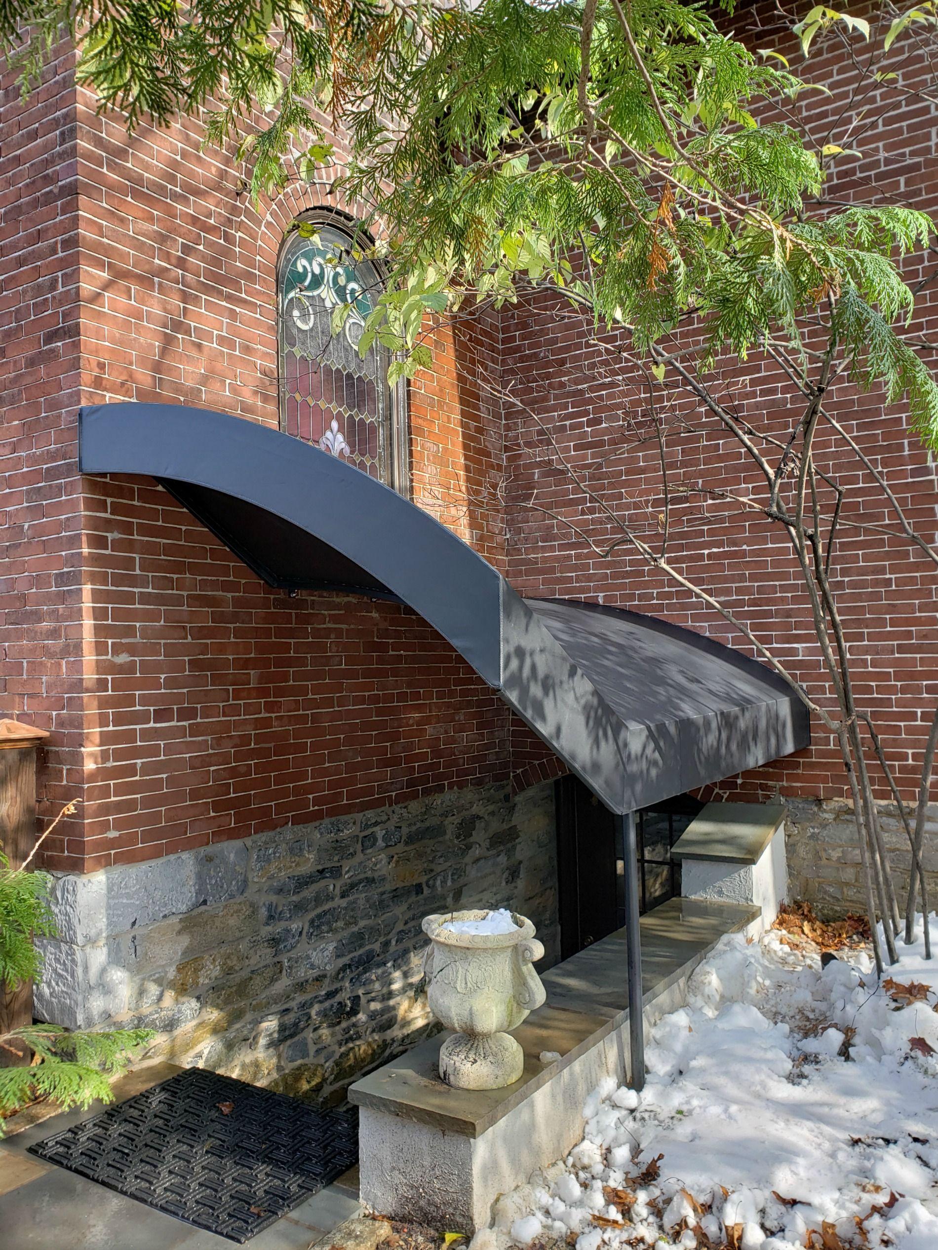 Basement Entrance Stair Canopy For A Church Basement Entrance