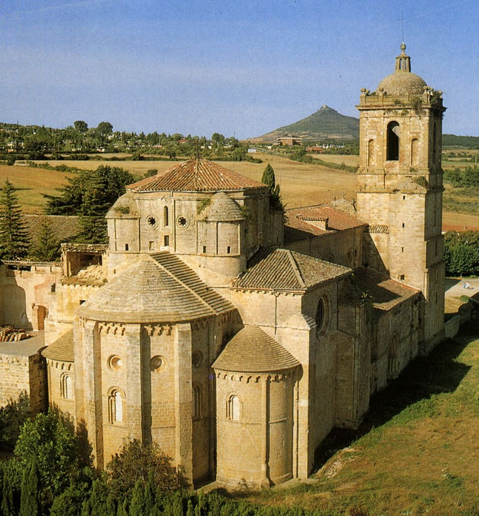 Monasterio de Irache (Navarra). S.XI -1050- Reino de Nájera ...