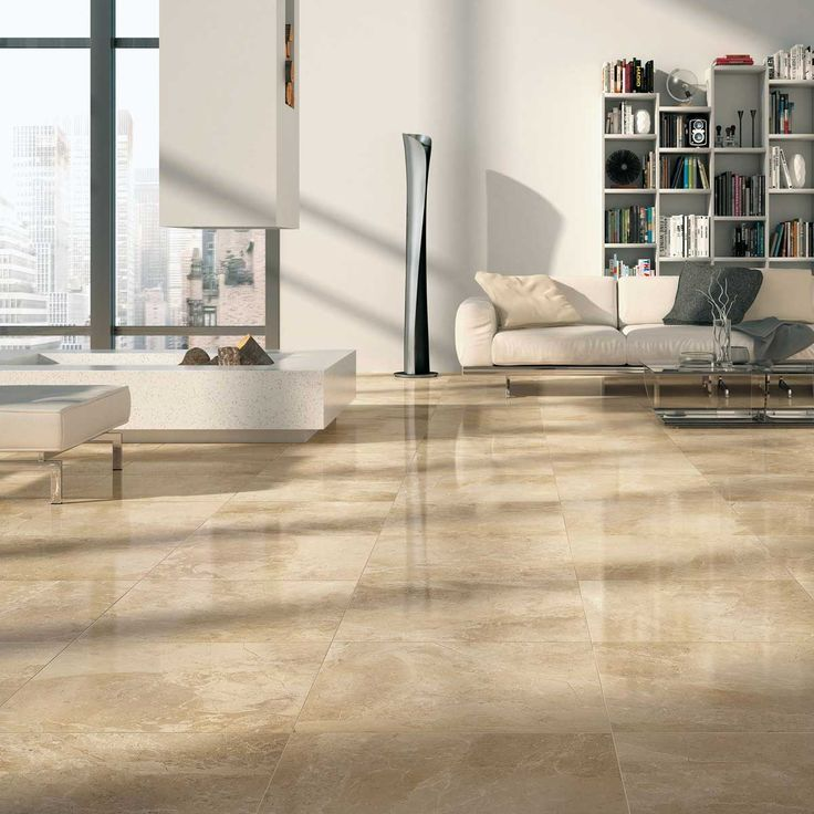 cream Crema Beige Marble granite living room floor tile UK ...
