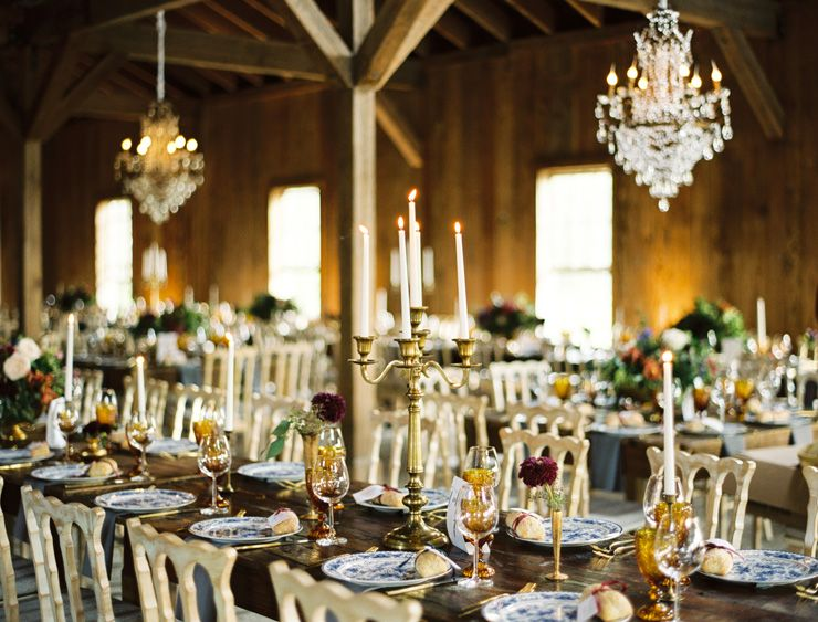 Autumn wedding table setting | fabmood.com