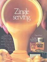 Cheez Whiz Zap-A-Pack Cups 1988 Ad Picture