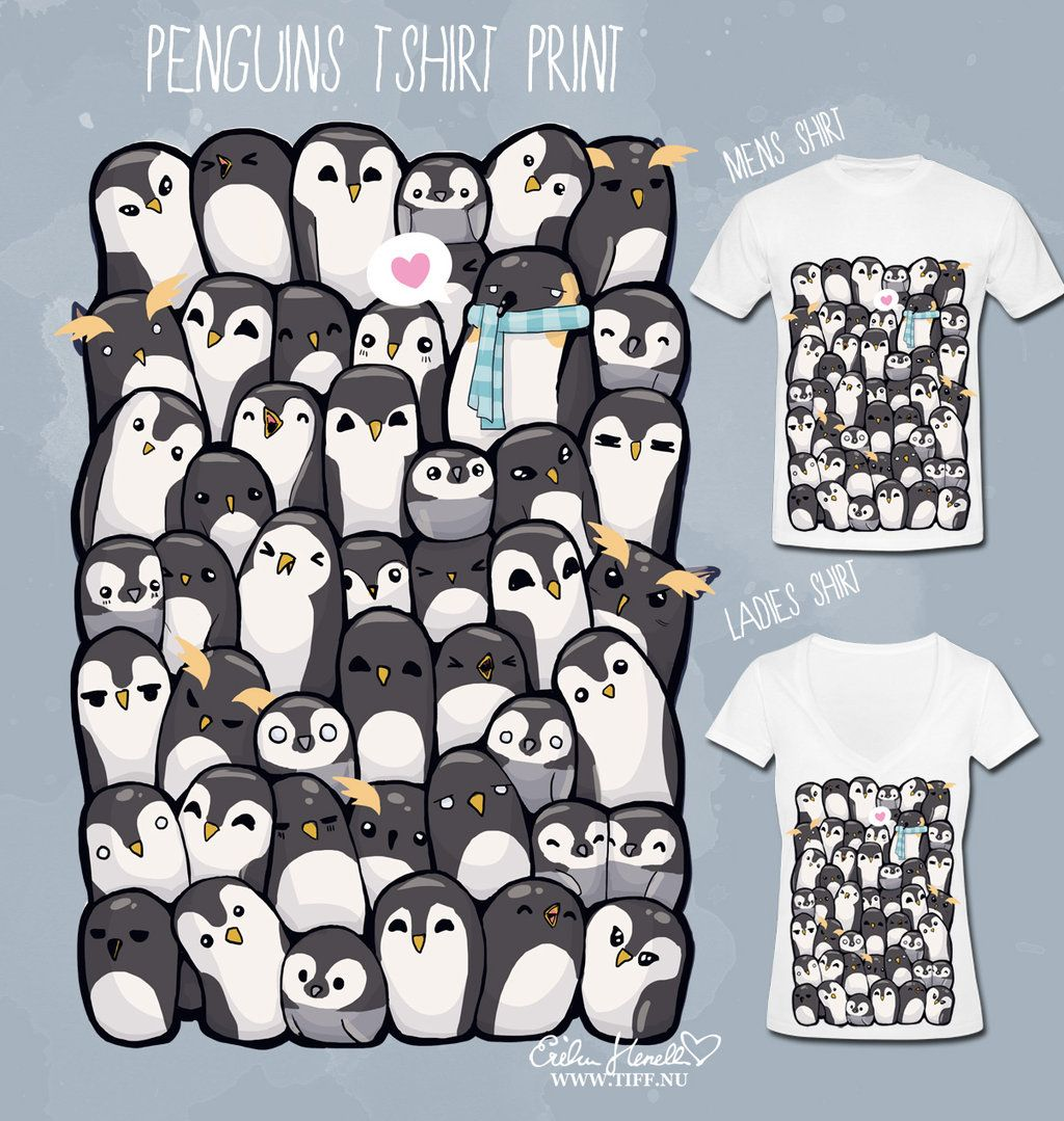 Download Penguins T Shirt By Peterpan Syndrome On Deviantart Penguin T Shirt T Shirt Great T Shirts