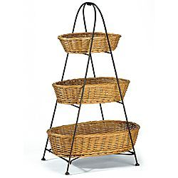 3 Tier Basket Stand Tiered Basket Stand 3 Tier Basket Stand