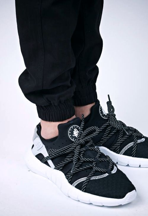 timberland bl - Nike Lunar Huarache Light SP - Black / White | Sneakers Shoes ...