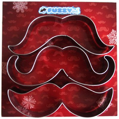 Mustache cookie cutters! Yes please!