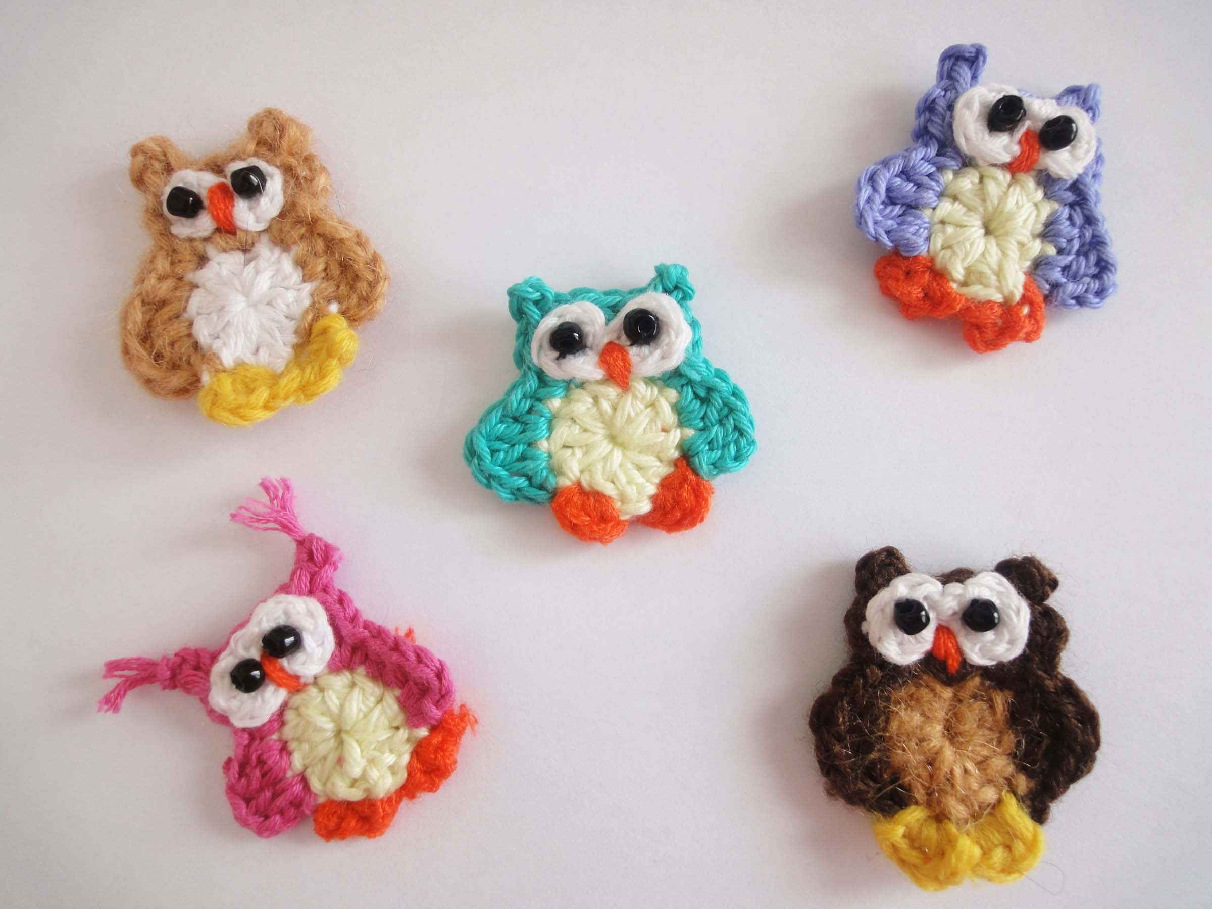 Маленький совёнок Small owlet Crochet | Bagoly | Pinterest ...
