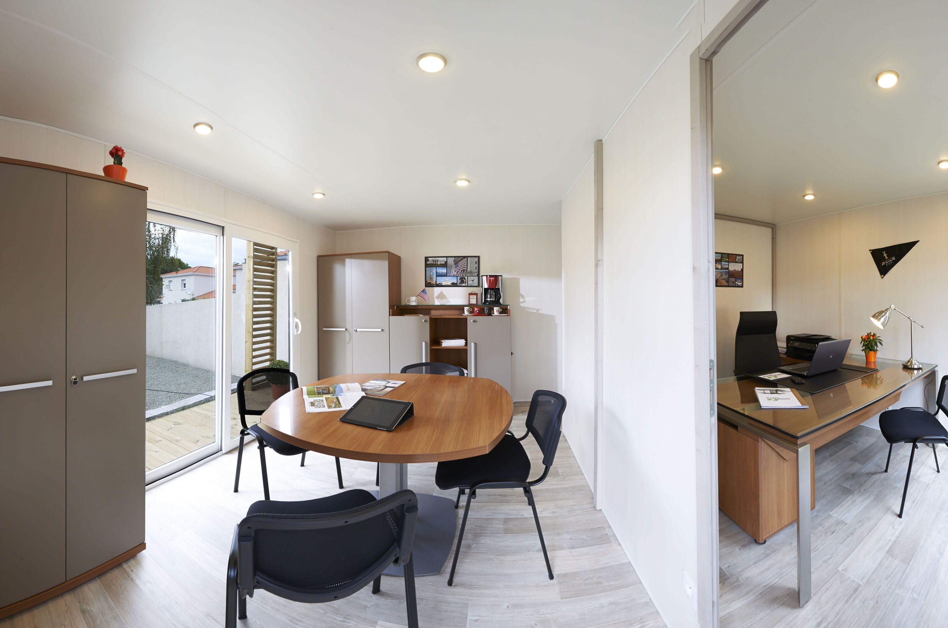 Home office modèle garden office wall street m vue générale