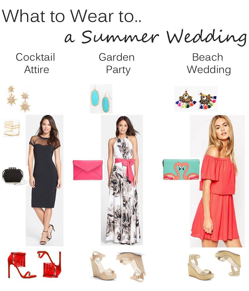 Cocktail Dresses for Attending Weddings