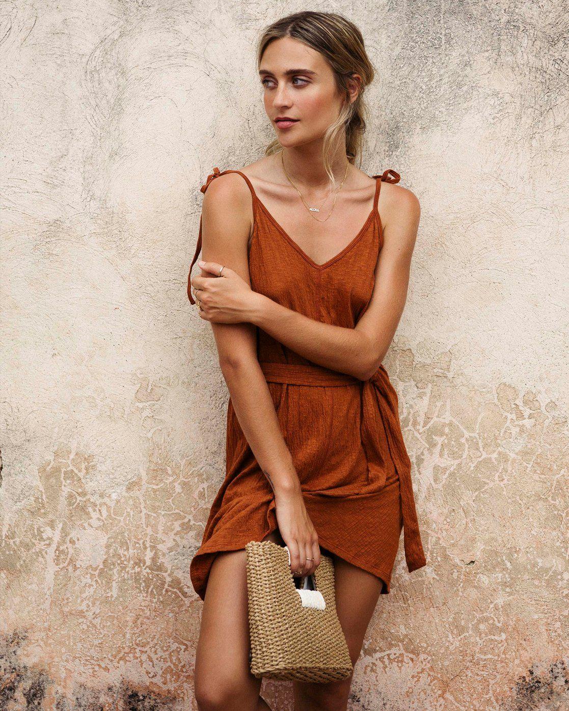 Billabong Womens Going Steady Mini Dress