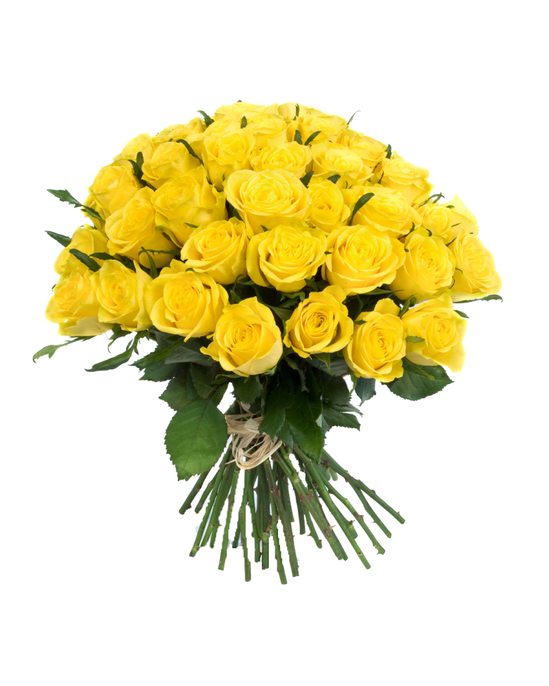 Fiori Gialli Png.Yellow Flowers Bouquet Transparent Png Fiori Piante Piante
