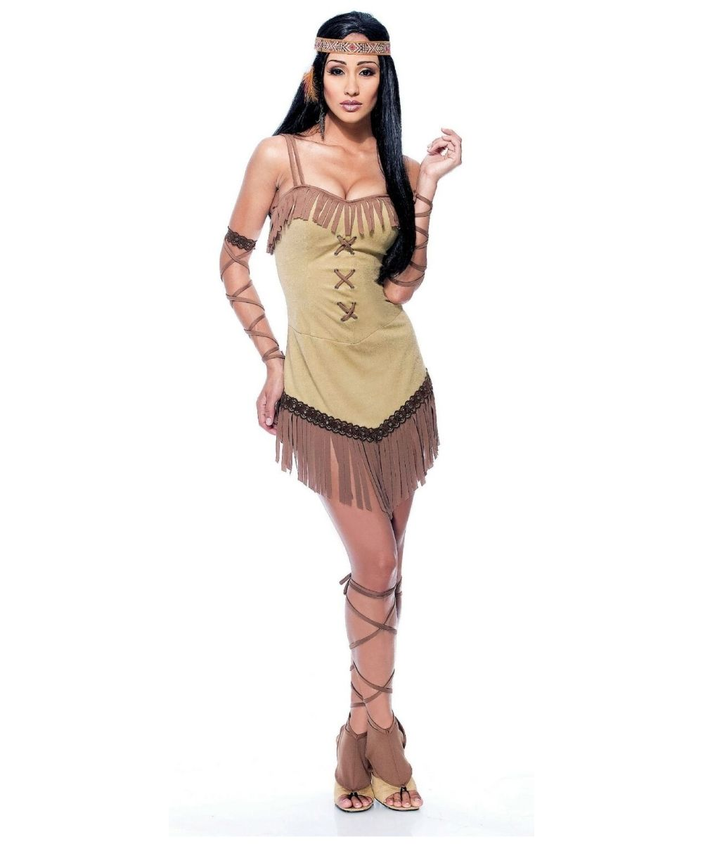 native american indian costumes adults costumes halloween costumes indian costumes native maiden indian women - Native American Costume Halloween