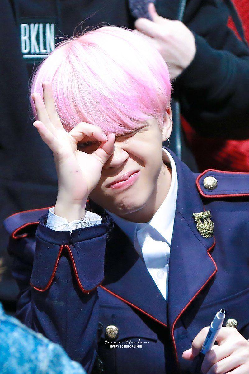 Jimin ❤ BTS Hongdae Fansign (170226) #BTS #방탄소년단