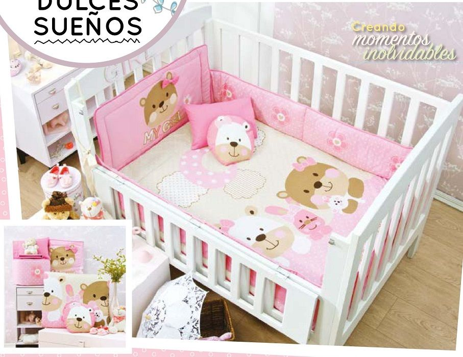 Sweet Dream Baby Girl 6 Piece Crib Bedding Set Crib Bedding Sets Nursery Bedding Baby Crib Bedding