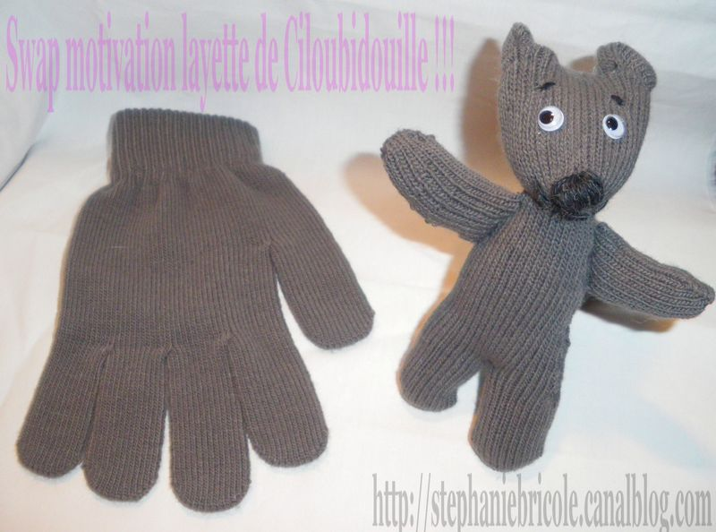 comment faire un doudou avec un gant gant tuto doudou. Black Bedroom Furniture Sets. Home Design Ideas