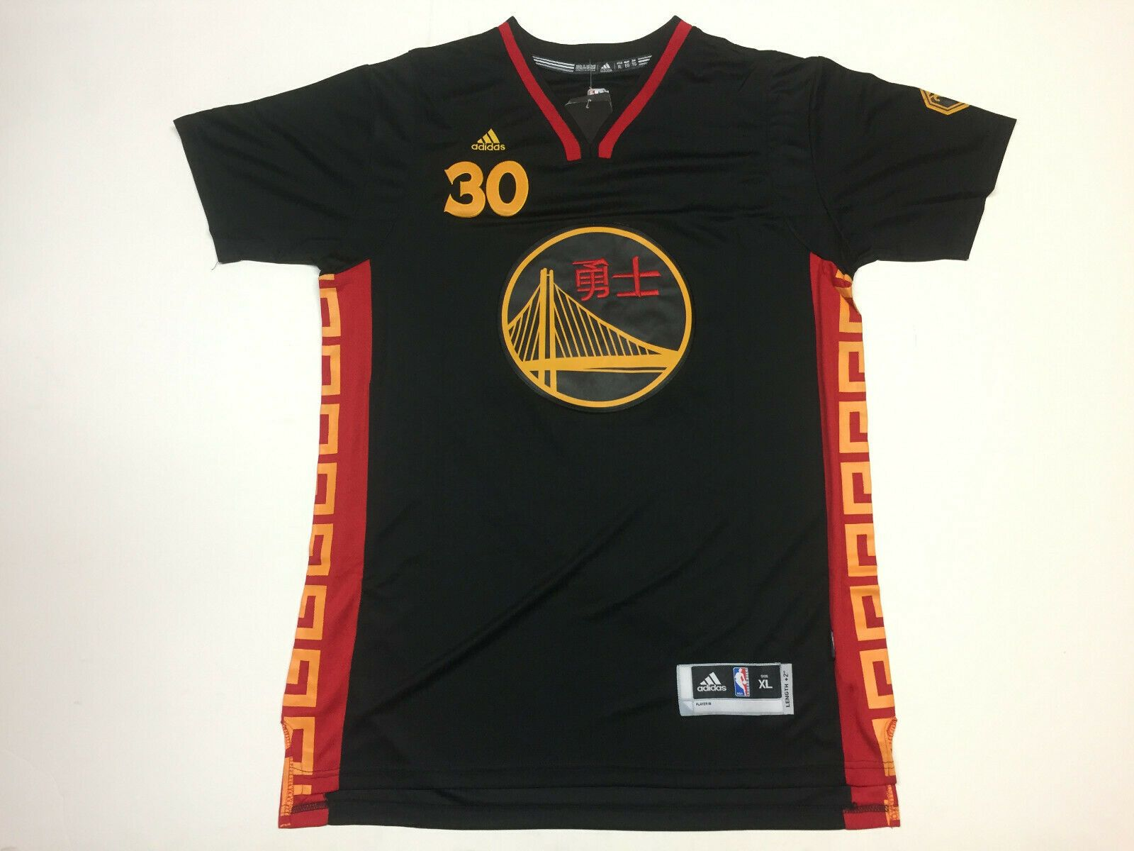 newest 3664d c0e13 STEPHEN CURRY Golden State Warriors 2015 CHINESE NEW YEAR ...