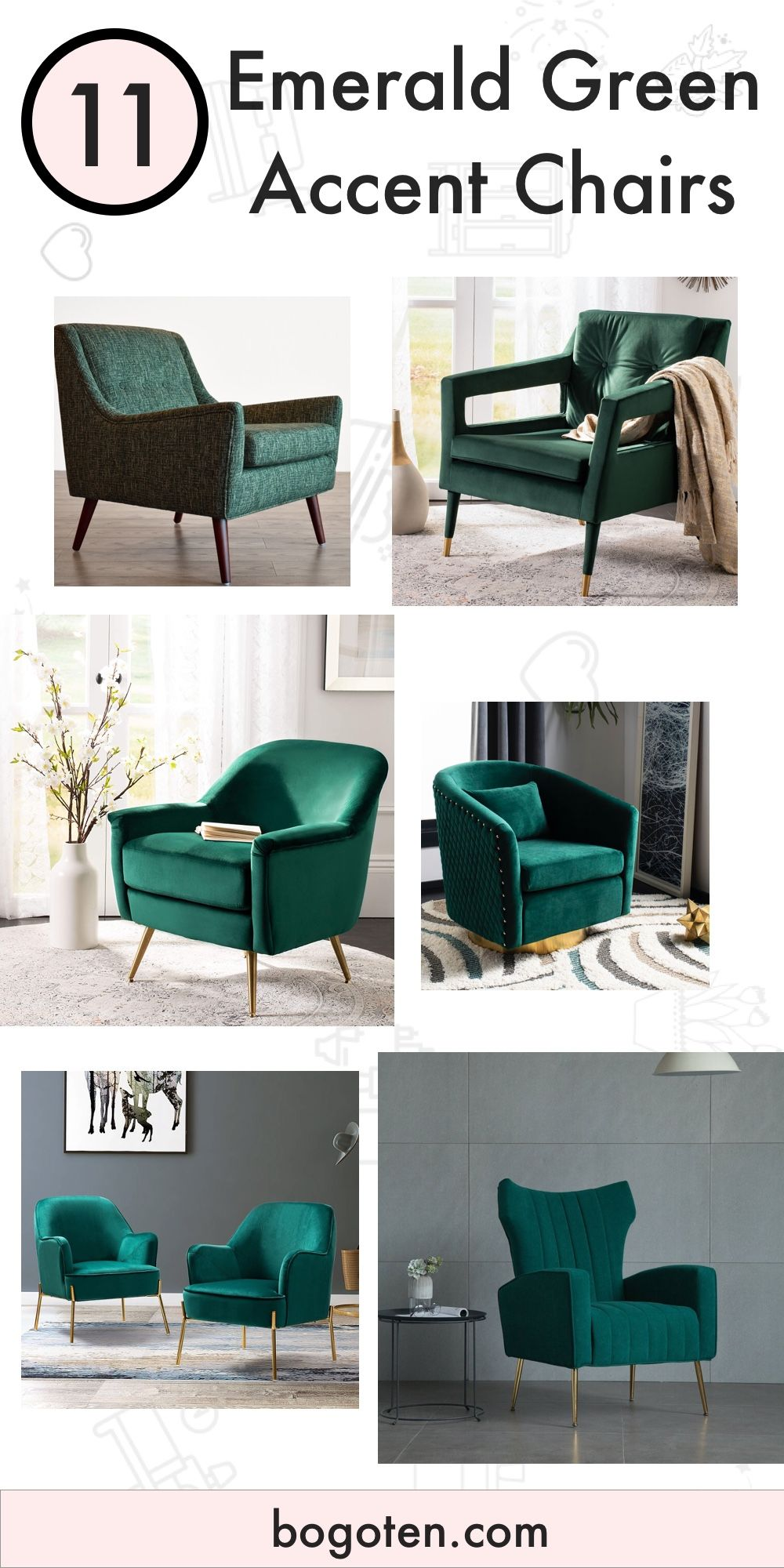11 Gorgeous Green Accent Chairs For When You Just Want Green Chairs In 2020 Green Accent Chair Accent Chairs Green Chair