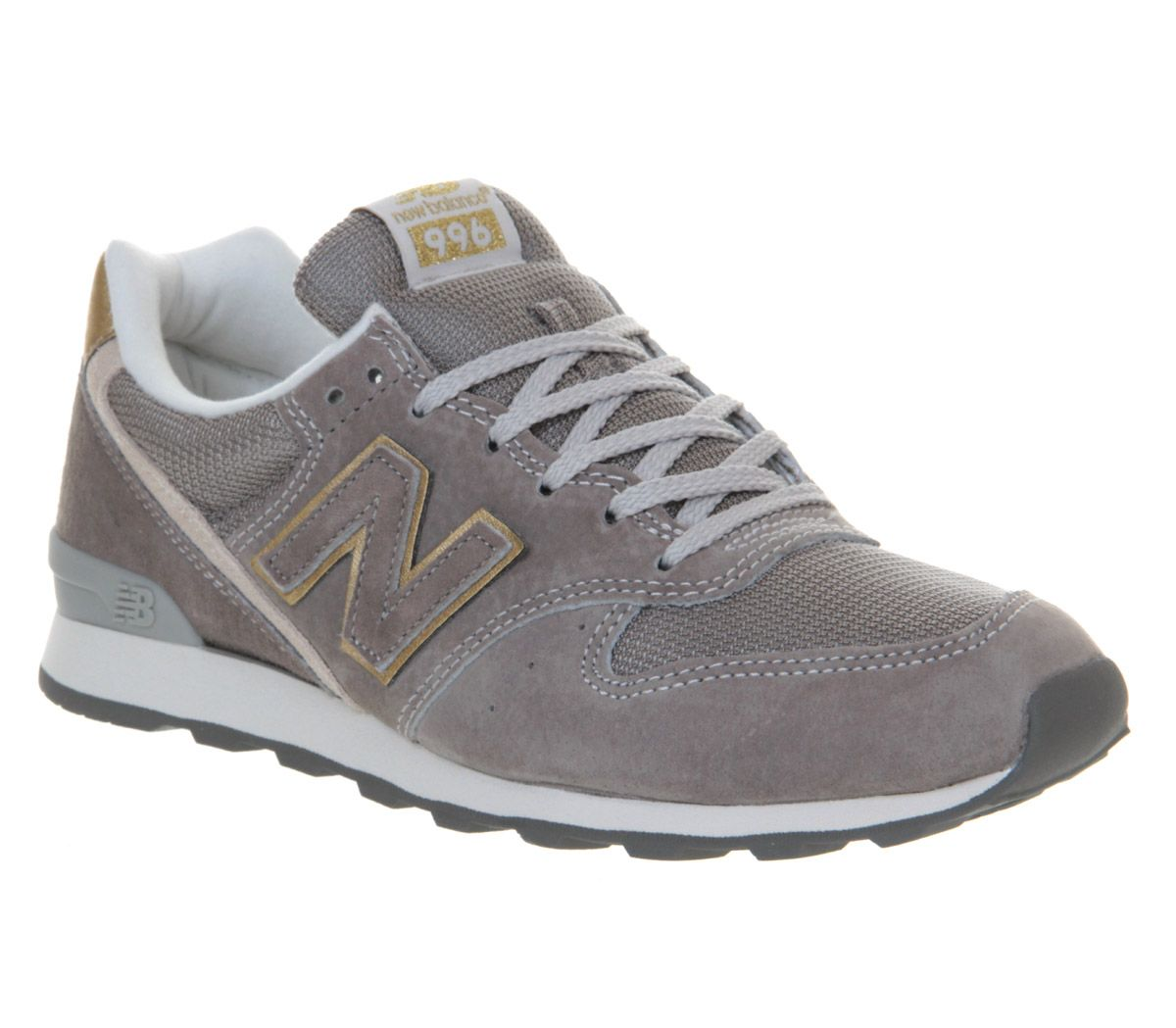timeless design 27088 bc12d New Balance Wr996 Grey Exclusive - Hers trainers | New ...
