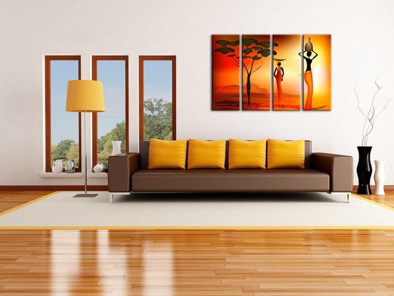 R sultat de recherche d 39 images pour d co salon africain moderne my future room pinterest for Peinture chambre style africain