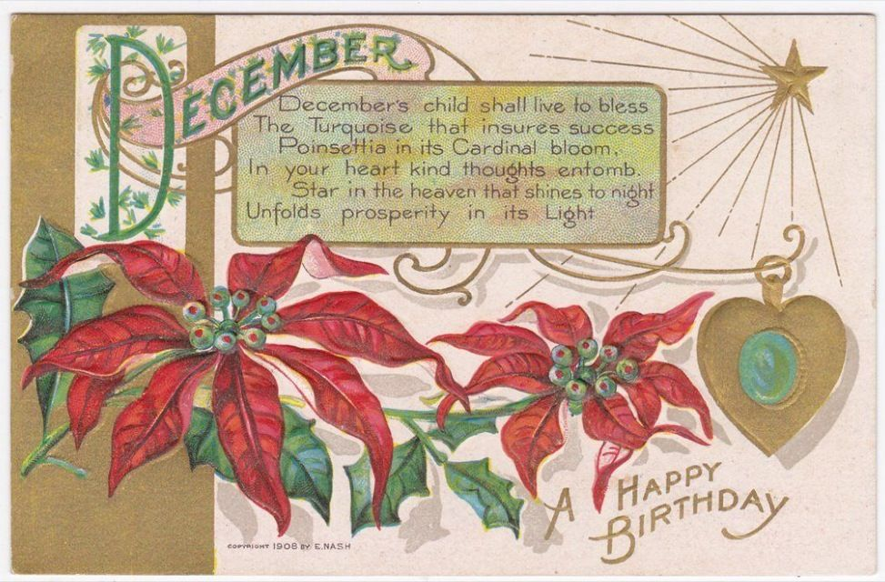 Pin op Birthday Vintage Cards and Illustrations