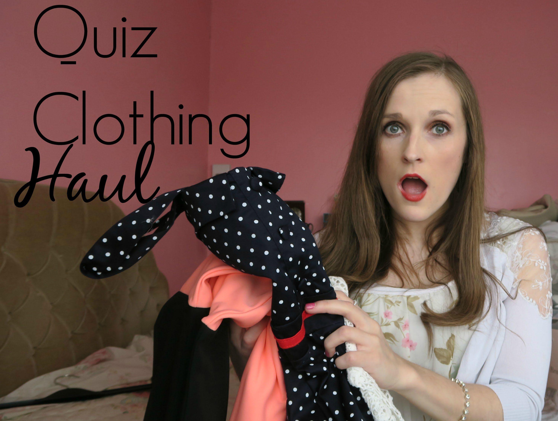 Quiz clothing april shopping haul haul quizshoppinghaul