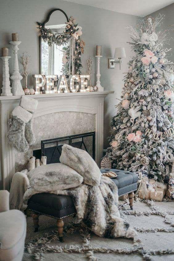 Pinterest Kaitlynconger Christmas Room White Christmas Decor Pink Christmas Decorations