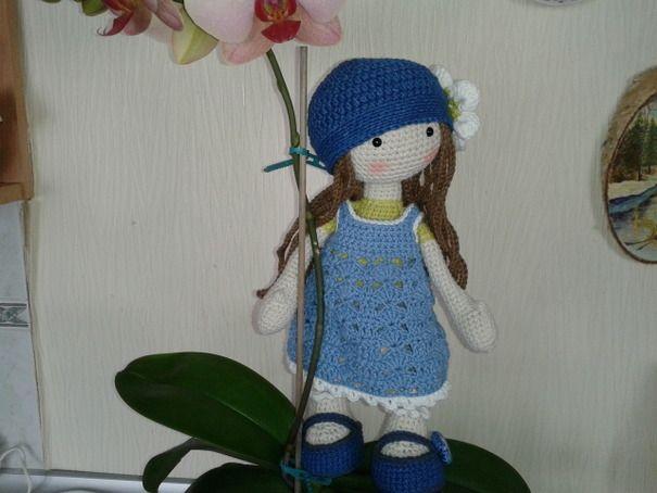 Ручная работа Куколка Лили ♡