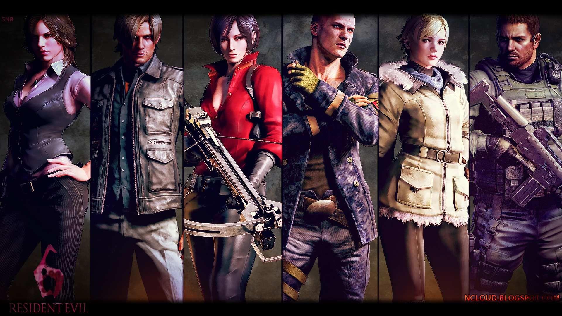 Resident Evil 6 Game 3 Com Imagens Desenhos Animados