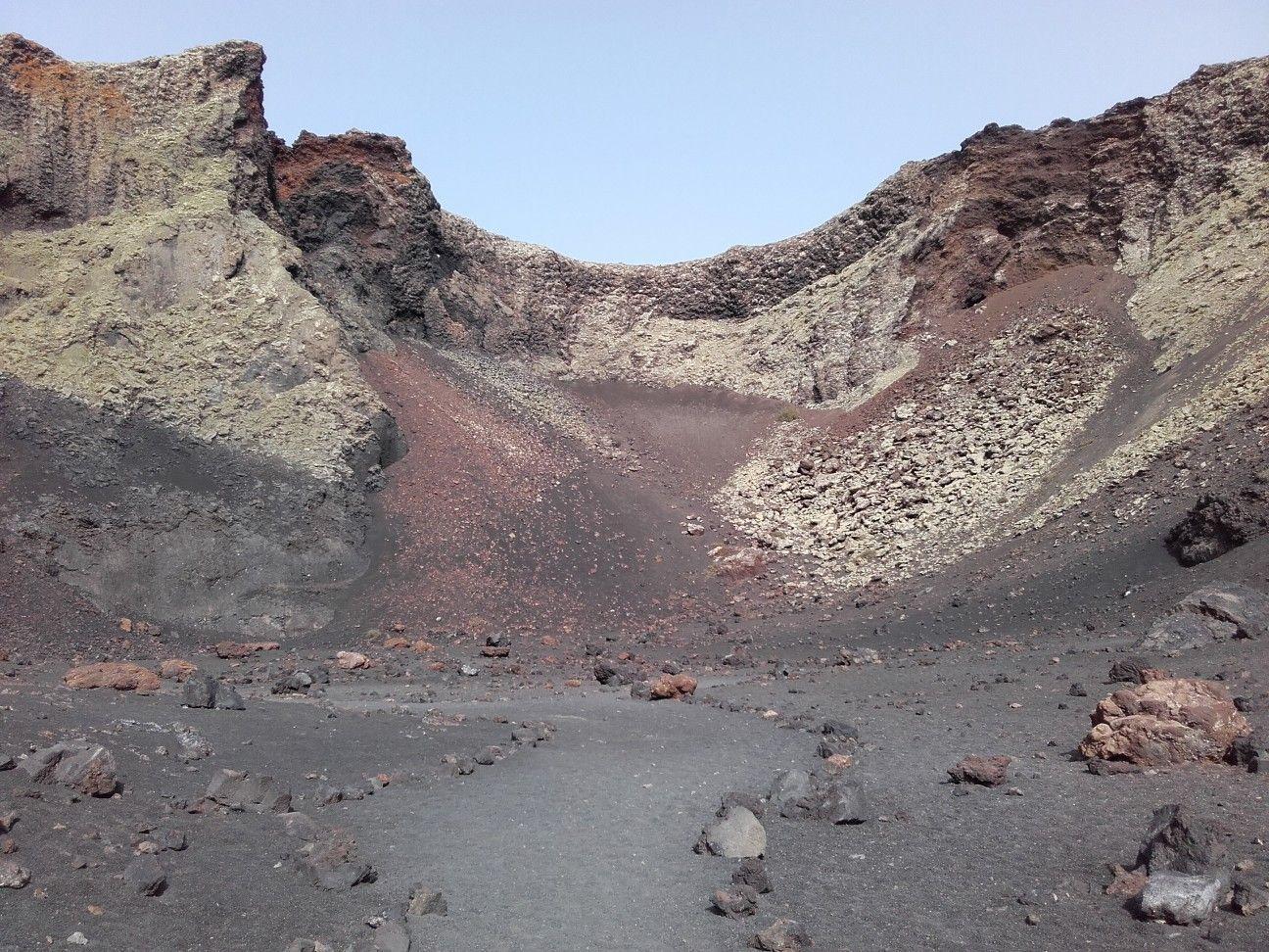 Volcán El Cuervo Lanzarote Volcanes Rutas De Senderismo