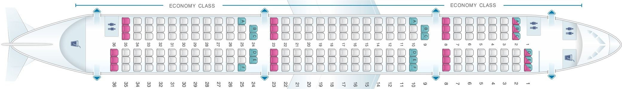 Seat Map And Seating Chart Airbus A321 200 Scandinavian Airlines Sas Airlines Fleet Seating Charts