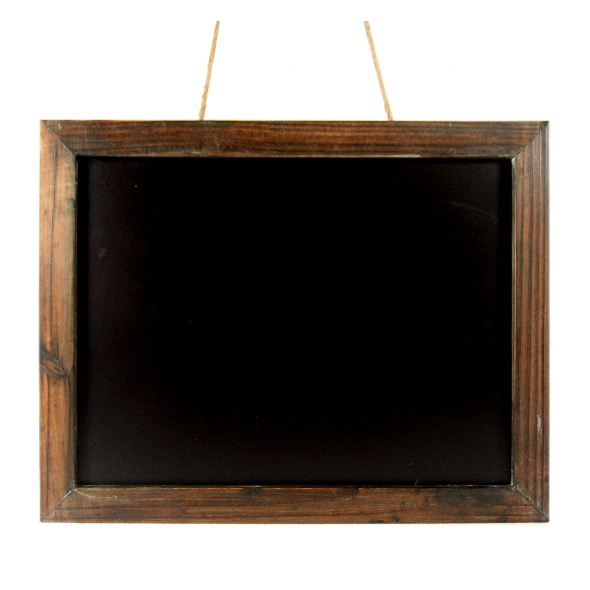 antique brown wood frame