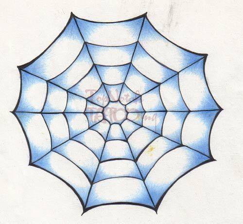 Star Bat Cobweb Tattoo - Google Search