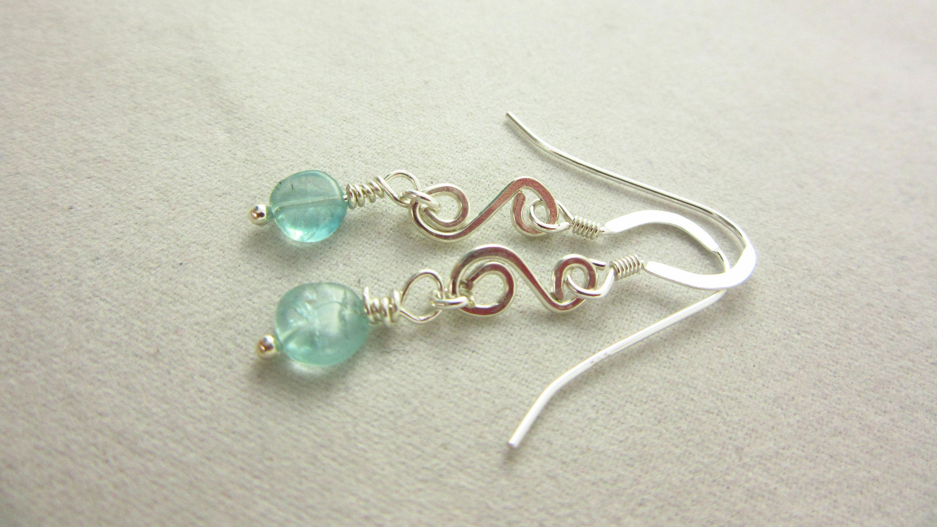 earrings with hands verdilune apatite clutching products dangles