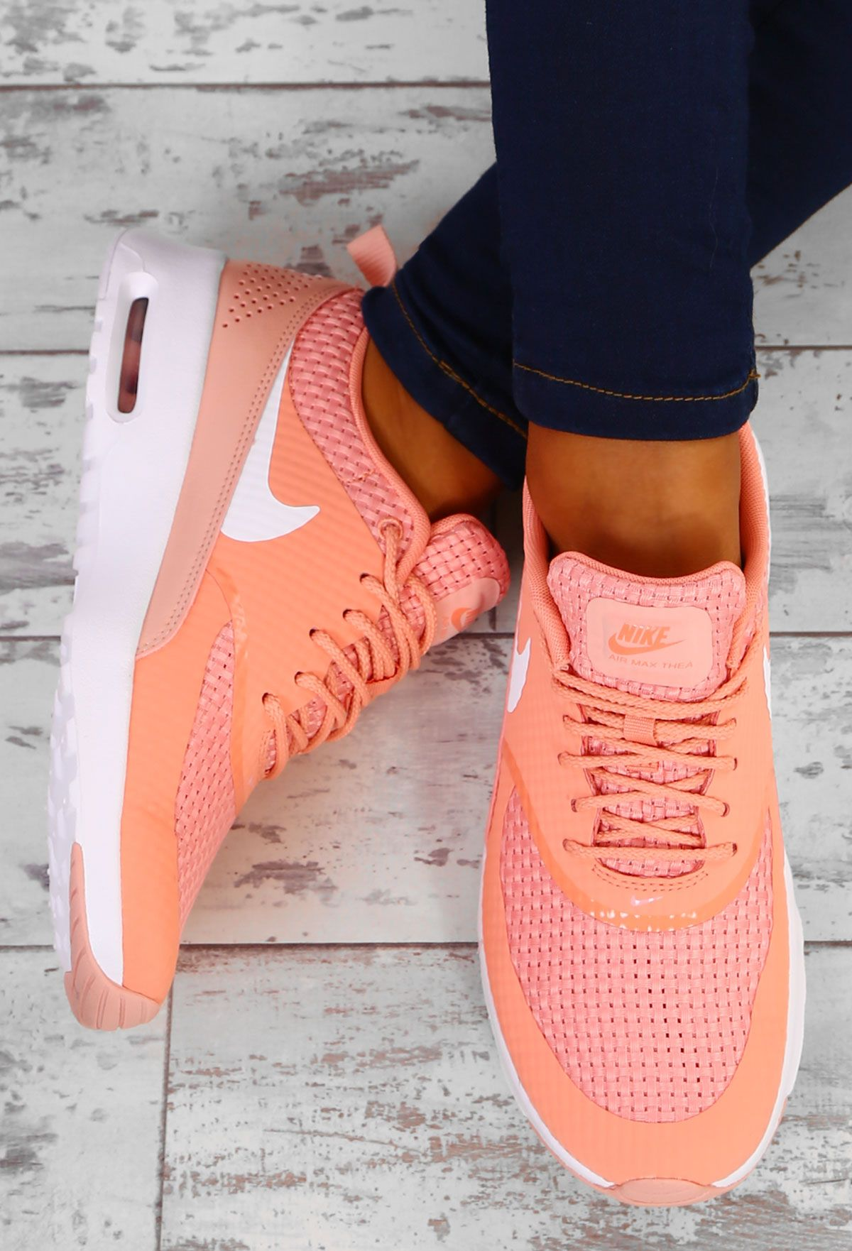 Nike Air Max Thea Crimson Bliss Trainers UK 3 | Nike air