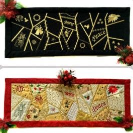 Crazy Patch Table Runner