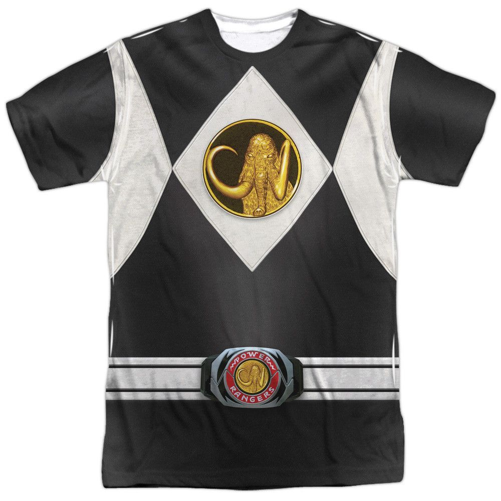 Power Rangers Dino Charge Allover Sublimation Licensed Adult T Shirt
