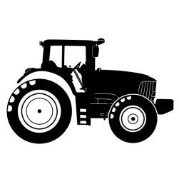 tractor silhouette gifts pinterest tractor silhouettes and cricut. Black Bedroom Furniture Sets. Home Design Ideas