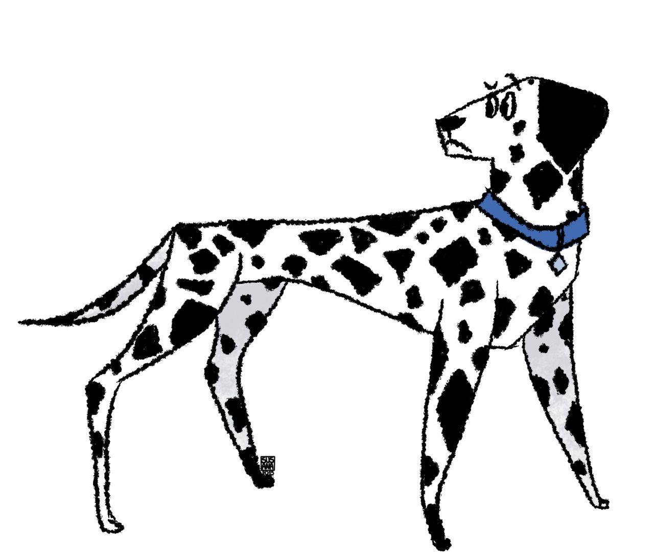 DAY 59- Dalmatianplease check out the blog: http://dailydoggieart.tumblr.com/my instagram: http://instagram.com/susanarodriguesart/