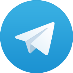Telegram logotyp